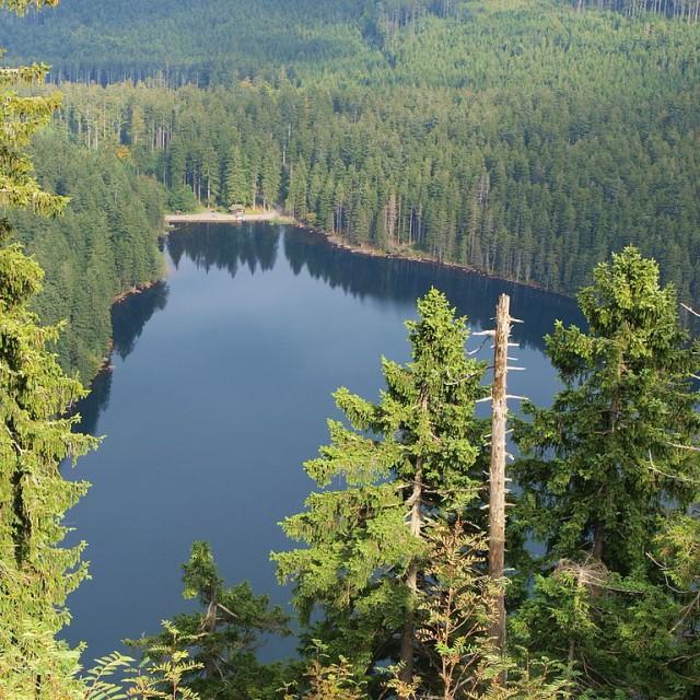 Železná Ruda, Černé jezero