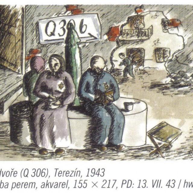 Die Kunstaktivitäten der Theresienstädter Kinder
