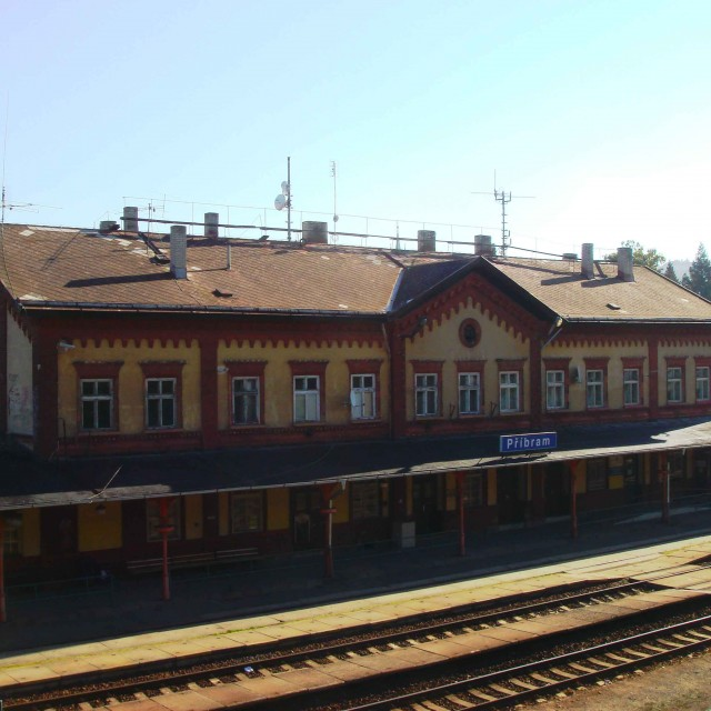 Příbram, vlakové nádraží