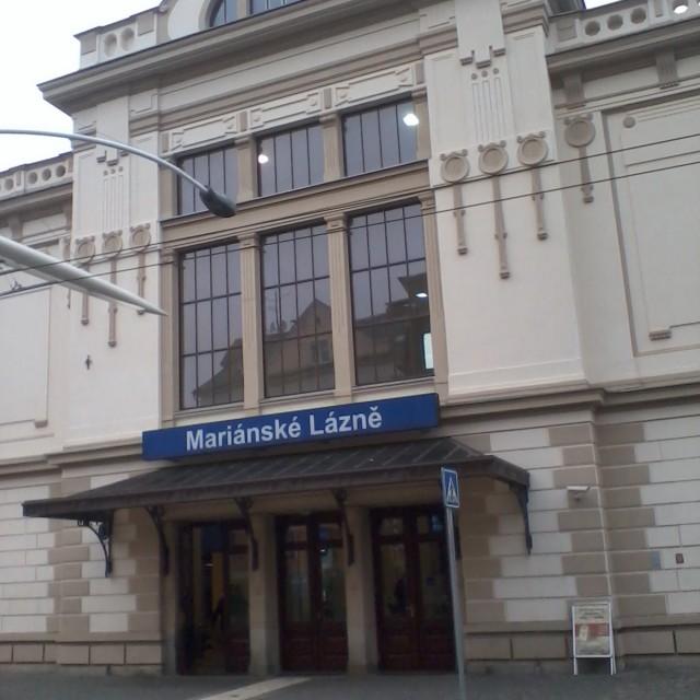 Marienbad, railway station