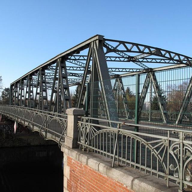 Berlin-Britz, Späthstraßenbrücke Bridge