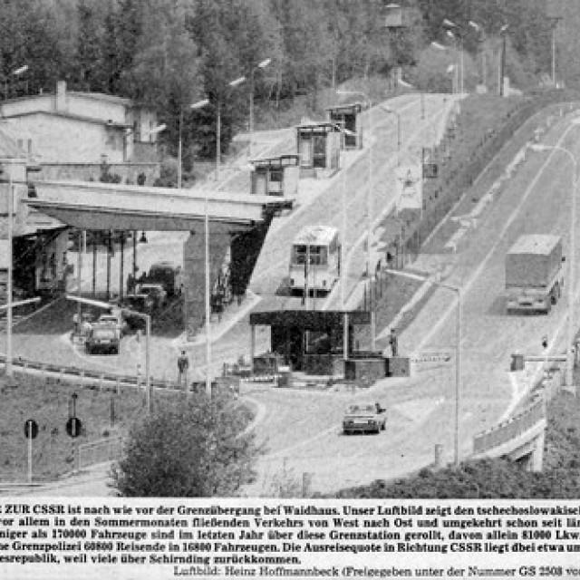 Rozvadov (Roßhaupt), border checkpoint