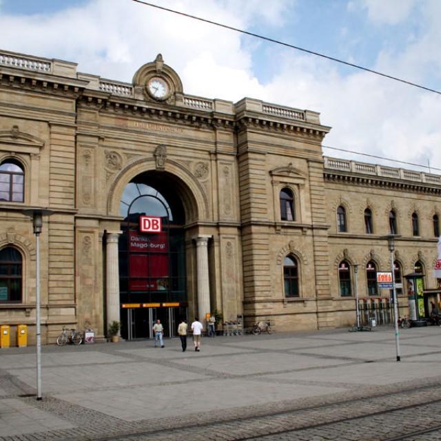 Magdeburg Central Railway Station (Hauptbahnhof)
