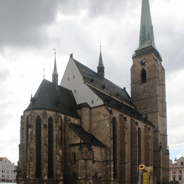 Plzeň, katedrála svatého Bartoloměje